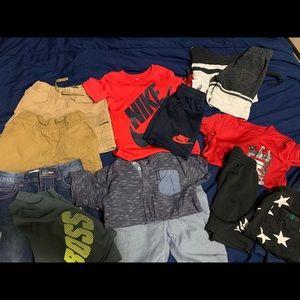 Boys summer clothing